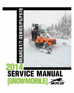 Arctic Cat Bearcat Z1 XT 2009 Service//Repair Manual-PDF Sled Workshop CD