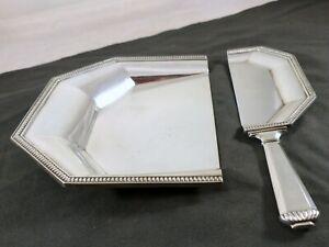 CHRISTOFLE GALLIA  ART DECO 1930 Ramasse Miettes / Tray Crumb