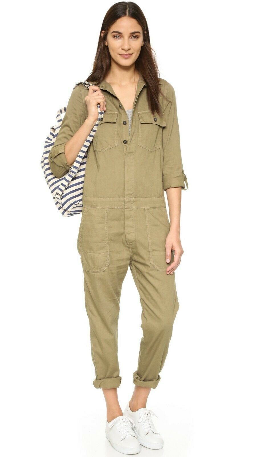 NWT Citizens of Humanity  308 Tallulah Jumpsuit in Beach Dune; S