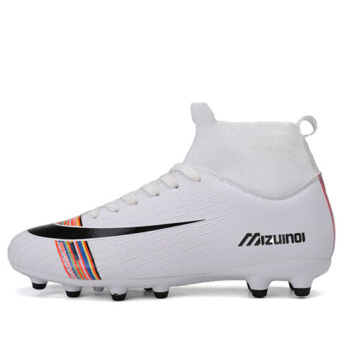 Herren Fußballschuhe Kinder Jungen Outdoor Nocken Kickschuhe Fussball Stiefel