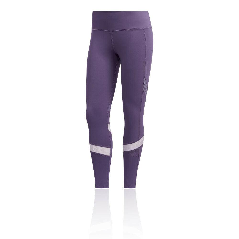 Adidas Femmes Comment Nous Ne Collants Bas Pantalon-violet Sport Running