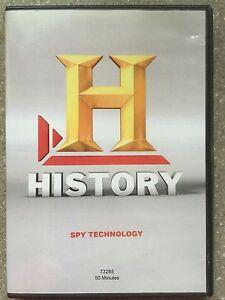 Spy Technology History Channel DVD