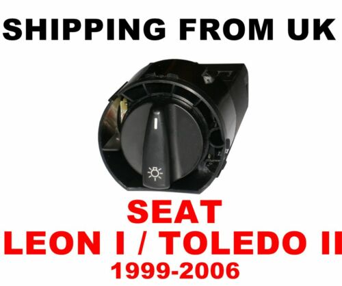 HEADLIGHT /& FOG LIGHTS SWITCH CONTROL UNIT for SEAT LEON I TOLEDO MK2 1999-2006
