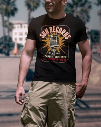 1952 Memphis Tennessee Rockabilly Men T-Shirts Sun Records Est