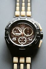 Swatch 007 Villain Collection Quantum of Solace Dominic Greene SUIB402