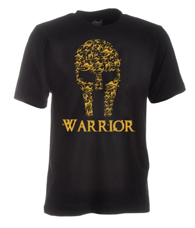 "Ju-sports-shirt ""warrior"", Box, Kick Box, Bjj, Mma, Muay Thai-t ""warrior"", Boxen, Kickboxen, Bjj, Mma, Muay Thai"