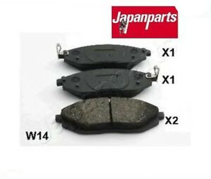 PAW14AF-Kit-pastiglie-freno-a-disco-post-Chevrolet-Spark-MARCA-JAPANPARTS
