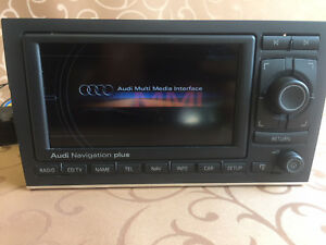 Details about Audi GPS Navigation system RNS-E for: Audi A4, S4, A4 Cab  MAPS DVD WEST EUROPE