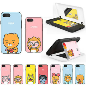 size 40 ab64b 07742 Details about Kakao Friends Door Bumper Case for Apple iPhone XS Max/ XR/  XS X/ 8 8 Plus/ 7 6