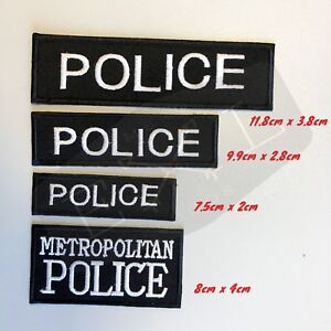Metropolitan-Police-Logo-Embroidered-Patch-Sew-Iron-on-patch-badge-police