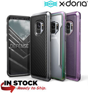 new concept 34f66 3a2fd Details about Galaxy S9 Plus Case,Genuine X-doria Defense Lux Protective  Cover For Samsung