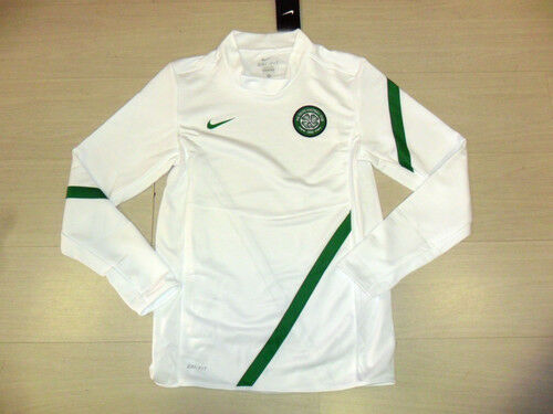 M FELPA ALLENAMENTO TRAINING TOP 0573 NIKE CELTIC GLASGOW TG