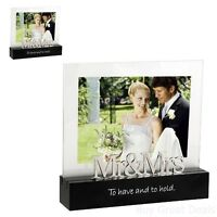 Wedding Photo Frame Picture Memories Celebrated Moment Mr And Mrs Love Gift