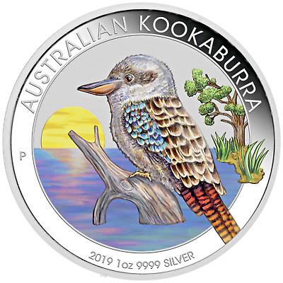 2020 ANDA Show Special 30th Ann Kookaburra 1oz $1 Silver Coin w// Paw Privy