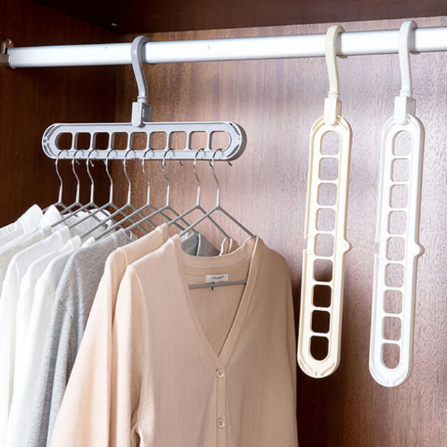 Multi-port Support Circle Clothes Hanger Clothes Drying Rack Multi-function S