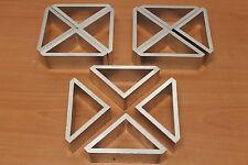 80/20 Inc 15 Series Aluminum Gusset 8636, 3 x 3 x .25 x 1.339 Lot AY (12pcs)