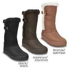 crocs s suede boots ebay