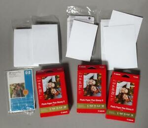 Canon Photo Paper Plus Glossy Ii 4x 6 5x7 Hp 4x6 Inch Pp 201