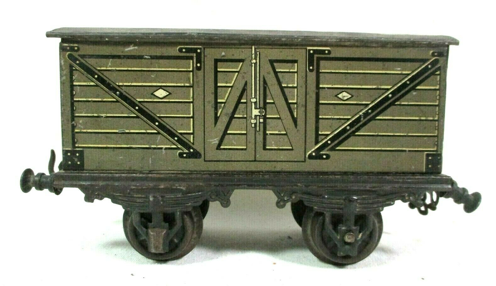 Bing   22176 Coverosso Wagon 1 Gauge Vintage Model Railway Train Freight B64-26