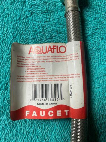 """1//2/"""" FIP X 1//2/"""" Compression Details about  /1 Aquaflo Mightyflex SFC-312-PP 12/""""flex Connection"""
