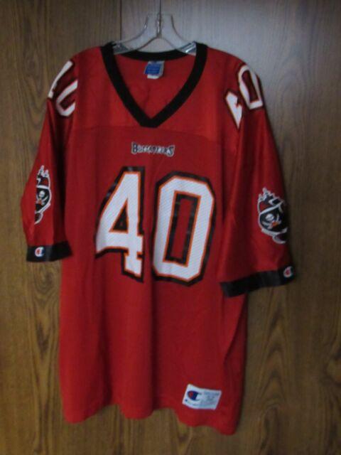 VTG Tampa Bay Buccaneers Mike Alstott   40 NFL Jersey men s sz 52 Bucs  Champion be24e2f82