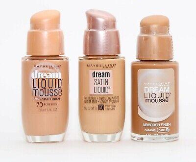 Maybelline New York Dream Liquid Mousse Foundation, Nude