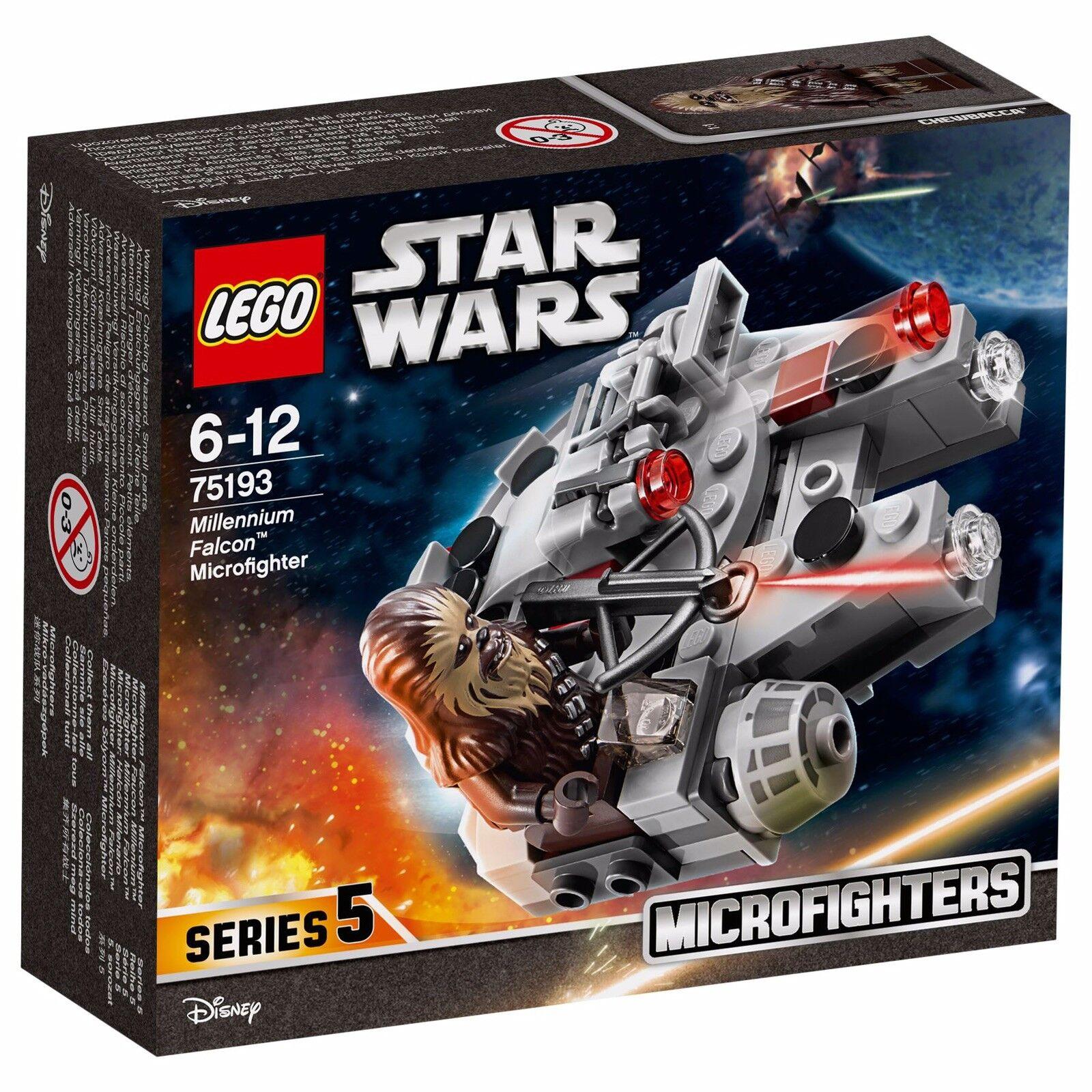 Lego star wars 75193 Millenium Falcon Microfighter NEW