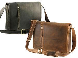 aus 16072 mit Messenger Laptop Herren Tasche abnehmbarer Leder Schultertasche Visconti q6wgHPxtZ