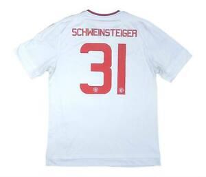 Manchester United 2015-16 ORIGINALE AWAY SHIRT Schweinsteiger #31 (OTTIMO) L