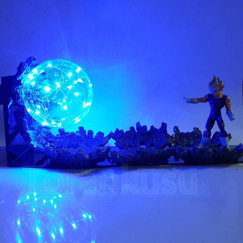 en stock Vegeta súper SaiyanDragon Ball Ball Ball Z Acción Figura Led Night Light DBZ jouet  disfruta ahorrando 30-50% de descuento