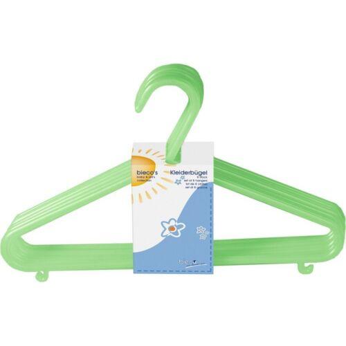 3 grün Baby Kinder Kleiderbügel Bieco Kinderkleiderbügel 32 Stück Farbe