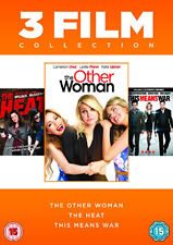 DVD:THE OTHER WOMAN / HEAT / THIS MEANS WAR - NEW Region 2 UK