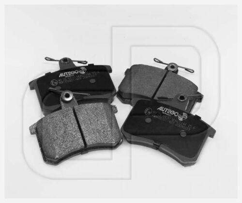 Bremsbeläge Bremsklötze AUDI V8 4C quattro 85 hintenHinterachse