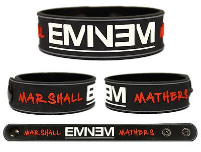 EMINEM Rubber Bracelet Wristband The Marshall Mathers LP 2