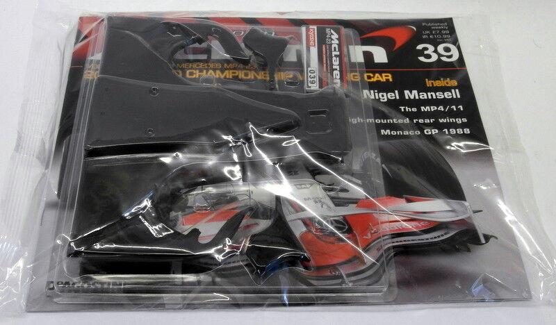 venta con descuento Kyosho Kits 1 1 1 8 scale Diecast 039 McLaren MP4-23 F1 Magazine subscription part  marca en liquidación de venta