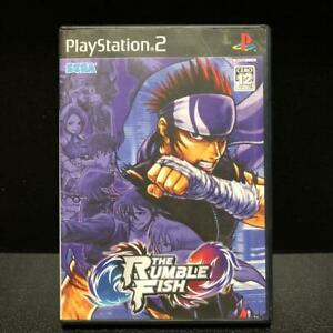 PS2-THE-RUMBLE-FISH-Import-Japan-Playstation-2-Tested-Working-Japanese-ver