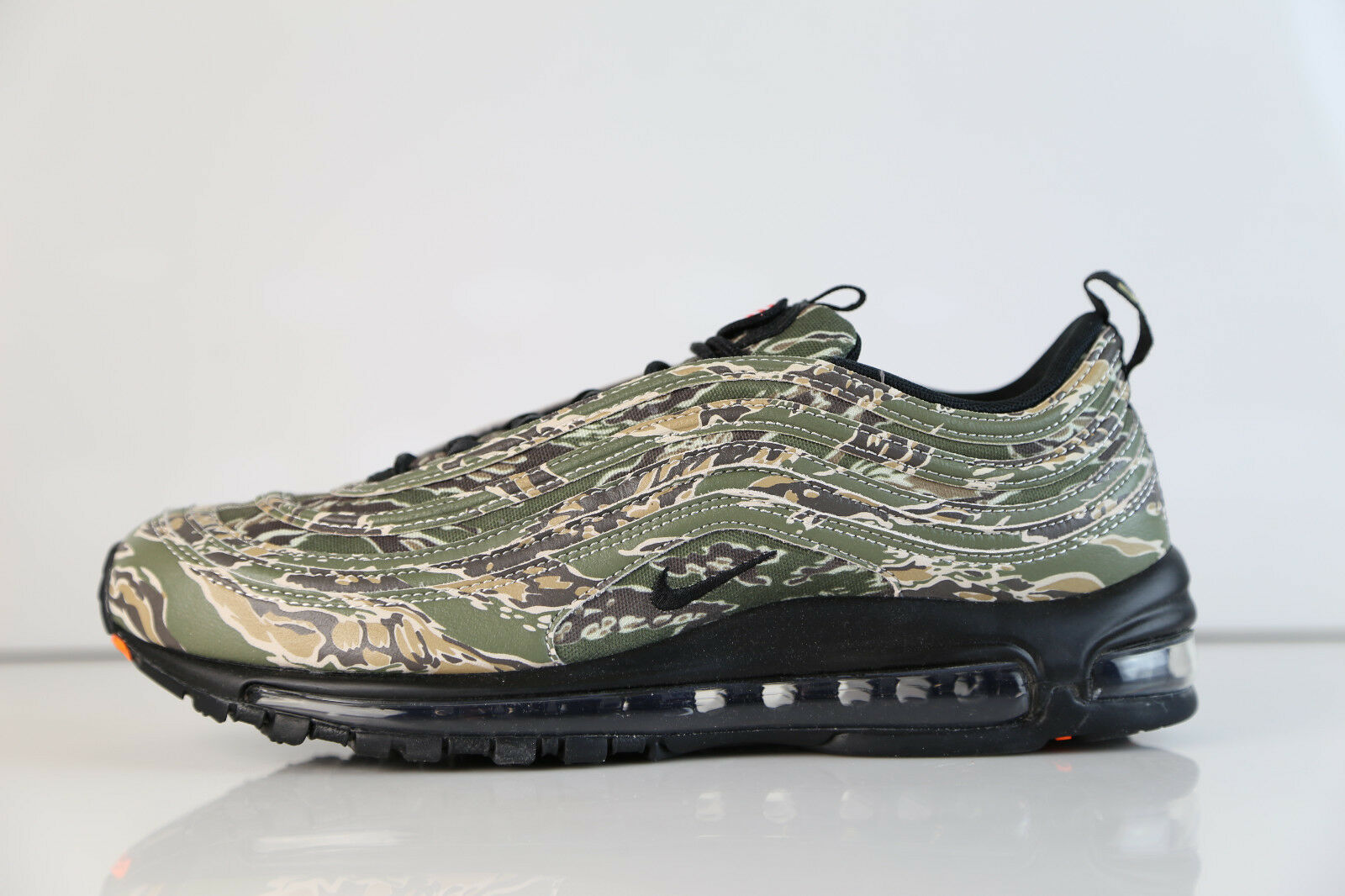 Nike Air Max 97 Premium QS Camo USA Olive International Air AJ2614-205 7.5-13 1