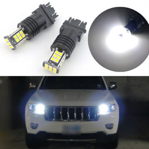 Details About 2x Hid White 24 Smd Led For 2011 2013 Jeep Grand Cherokee Daytime Running Lights