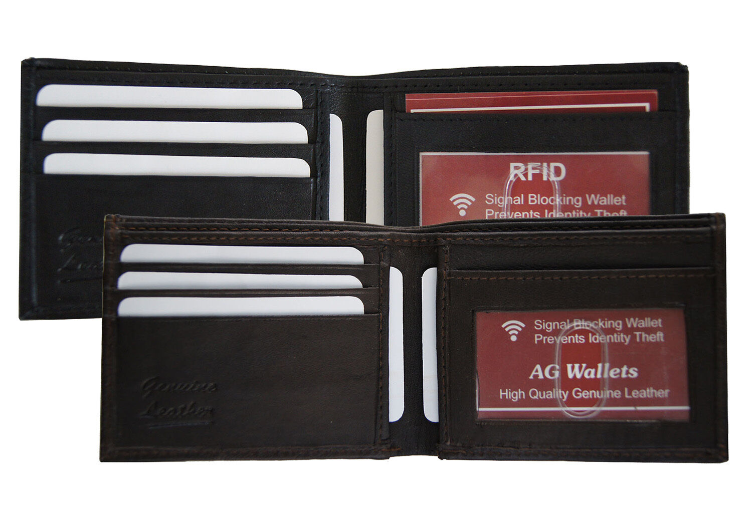 2 RFID NFC Signal Blocking Wallet Insert Cards I Credit Debit Social Security Card Data Blockers /& Free Identity Theft Passport Protector Incl