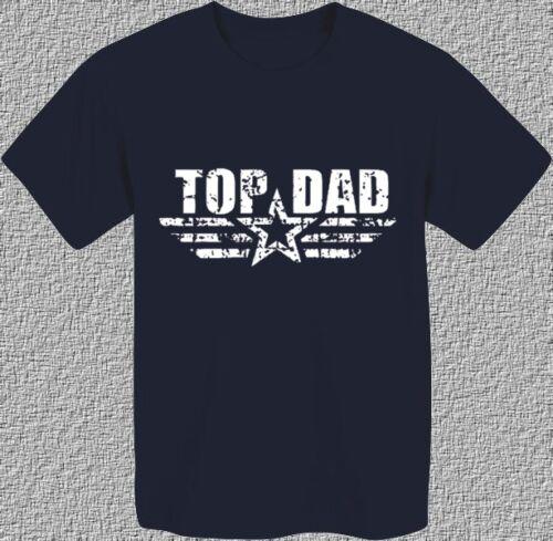 TOP DAD 1 REGALO FESTA DEL PAPA/' BABBO COMPLEANNO T-shirt Maglietta uomo