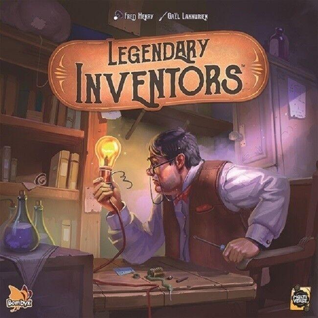 Asmodee  Legendary Inventors game (New)