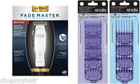 Andis Fade Master Clipper 01690 Ml + Double Magnetic Combs Guides 01410 & 01415