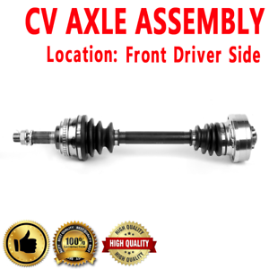 1x Front Driver Side CV Axle Drive For LEXUS RX300 1999 2000 2001 2002 2003 FWD