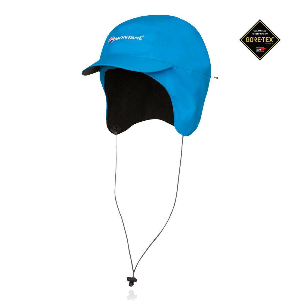Montane Herren Mountain Squall GORE-TEX Laufkappe Kappe Mütze Sportkappe Blau