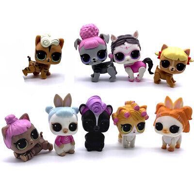 2pcs Lot Figure Toy Series 3//4 LOL Surprise Pets Doll Animals Cat Sent At Random