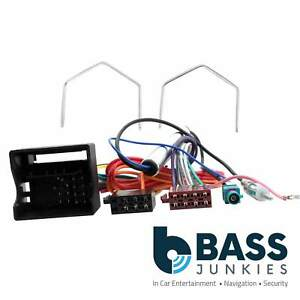 Details about Vauxhall ASTRA H Car Stereo Radio Wiring Harness Fakra on