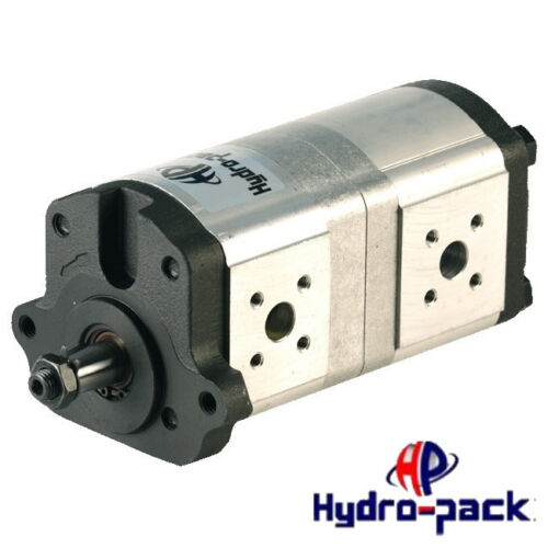 Hydraulische Doppelpumpe Tandempumpe OEM 052107T1 Massey Ferguson 8,2+11 ccm