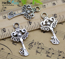 Lot 40//100pcs retro Jewelry Making DIY insects alloy charms pendant 17x9mm