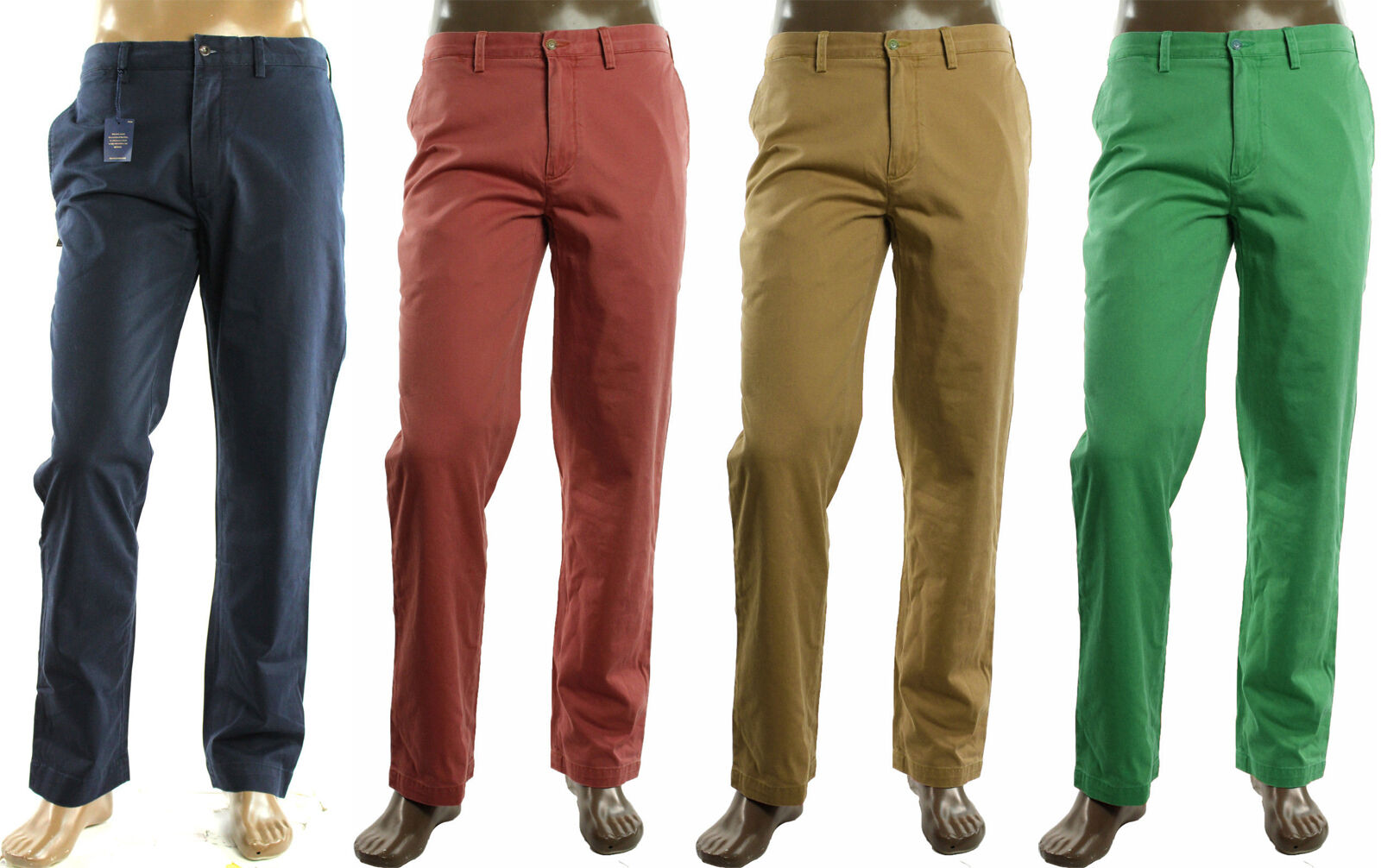 info for 468f8 3611c NEW MENS POLO RALPH LAUREN FLAT FRONT CLASSIC FIT CASUAL ...