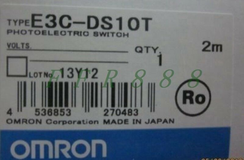 NEW Omron optoelectronic switch E3C-DS10T